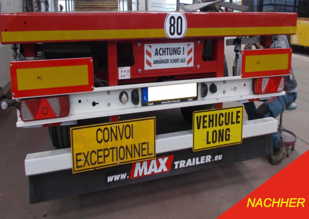 Reparatur und Wartung von LKW, Anhänger und Sattelauflieger